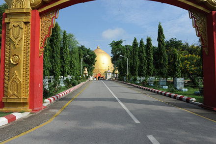 Kaungmudaw Pagoda near Sagain