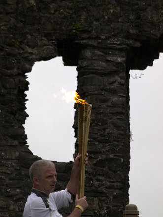 Kendal Castle Olympic Torch