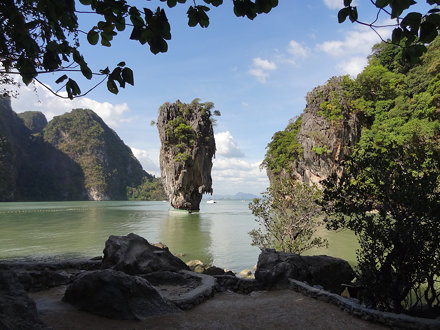 View of Ko Tapu From James Bond Island (Khao Phing Kan), Thailand