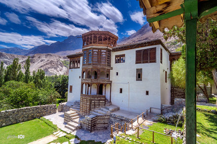 Khaplu Palace Northern Areas of Pakistan