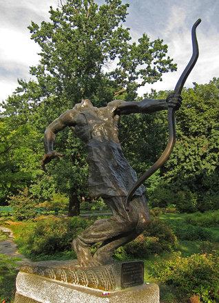 Statue - Fomin Botanical Gardens Kiev