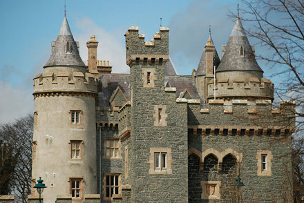 Killyleagh Castle.