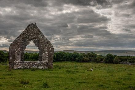 Ruined Church, The Burren, Ireland