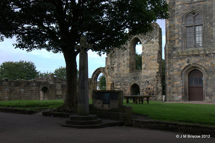 Kilwinning Abbey WWI War Memorial