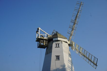 Jonathan Creek's windmill - King's Mill, Shipley, Horsham, West Sussex