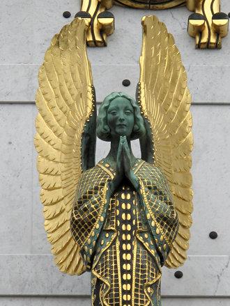 Un autre ange, (détail).