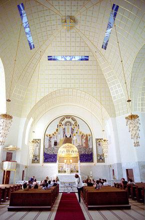 kirche am steinhof - interior 1