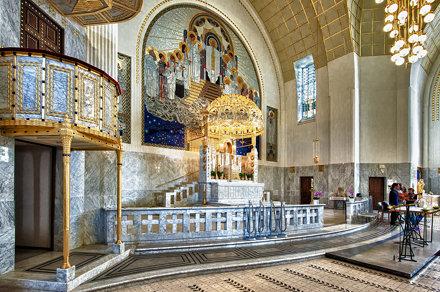 Kirche am Steinhof von Otto Wagner -5