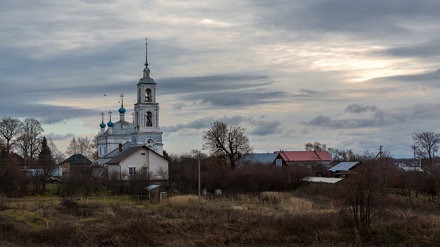 In the silence of autumn (Church of the Nativity of the Blessed Virgin in the Pereyaslavl-Zalessky)