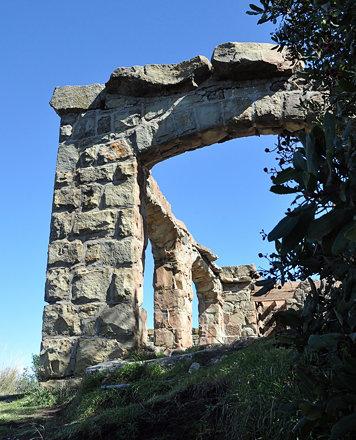 Knapp's Castle: Looking Up