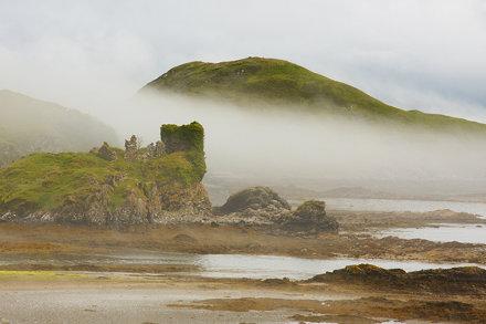 Knock Castle, Isle of Skye
