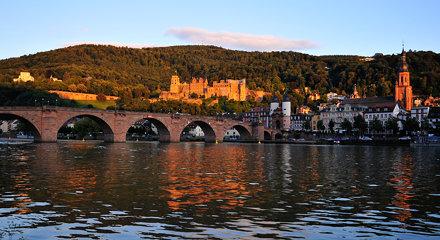 Heidelberg in the evening