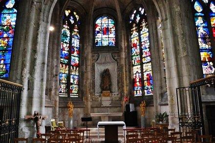 L'église Saint-Étienne de Beauvais