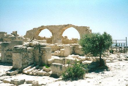 Ruin - Curium Basilica