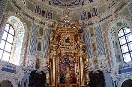 Manierystyczny ołtarz kaplicy zamku w Krasiczynie