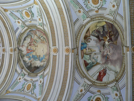 Chapel ceiling - Hrad Krásna Hôrka - 137