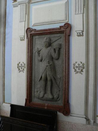 Grave stone in chapel - Hrad Krásna Hôrka - 138