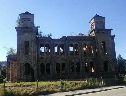 De vervallen synagoge van Vidin.