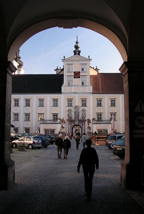 A gate to Monastery