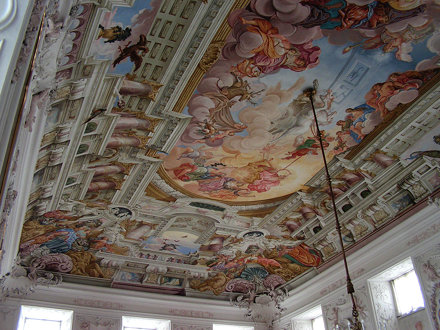 Ceiling of Kaisersaal