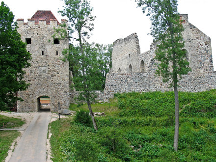 Sigulda old castle ruins