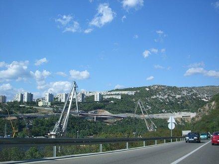 View over Rijeka