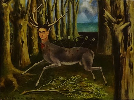 Frida Kahlo - La Venadita - The Little Deer - 1946 - Louisiana Museum of Modern Art