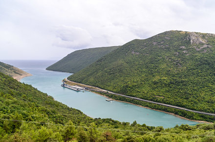 Port of Plomin, Croatia