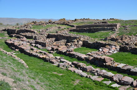 The ruins of Warsama's palace, King of Kanesh, one of the oldest examples of the Anatolian pala