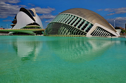 Valencia Calatrava City C.A.C. IMAX & Opera
