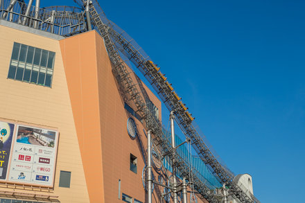 Thunder Dolphin Roller Coaster, Bunkyo, Tokio - Japan