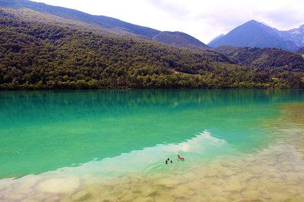 07-07-2013: il lago di Barcis (PN)