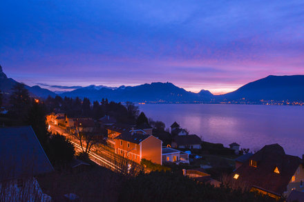 LANDSCAPE - Sunset in Annecy