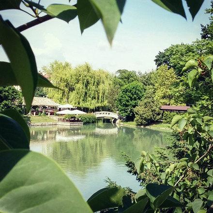 #Ariana #lake in #Sofia, #Bulgaria.