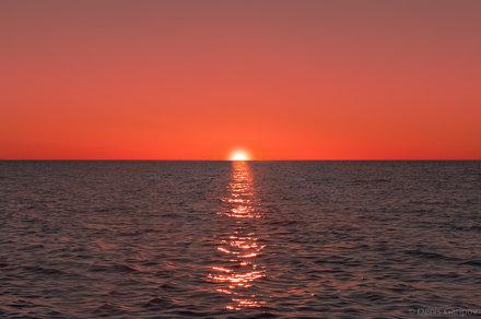 Закат на Белом озере