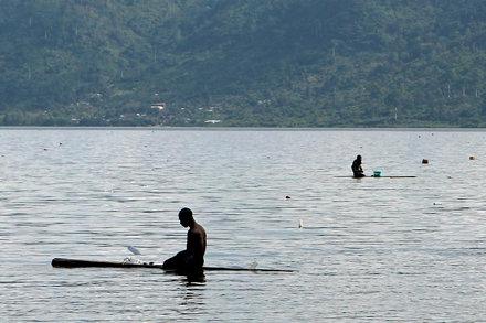 The fishermen of Bosumtwi