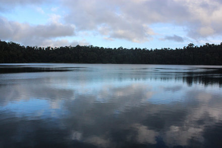 Lake Eacham in the early Dawn