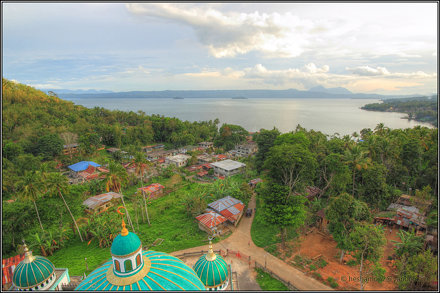 Lake Lanao From Tugaya Grand Mosque