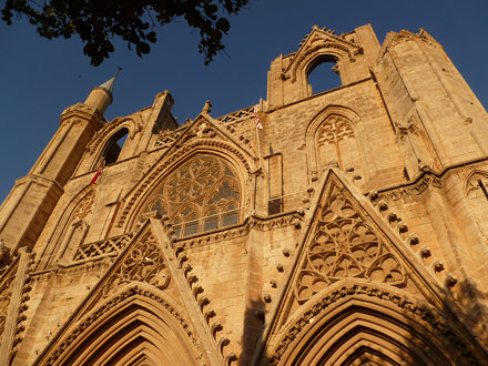 Lala Mustafa Pasha Mosque (St Nicholas Cathedral), Famagusta, Cyprus