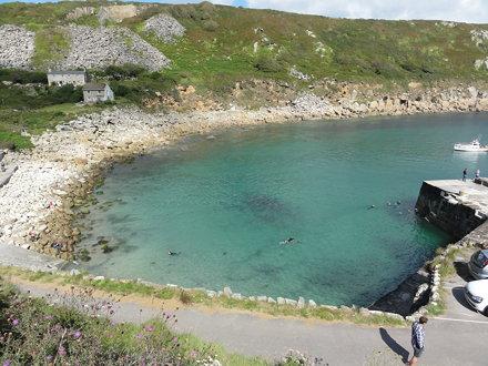 Lamorna cove. Cornwall. 2011
