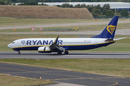 Boeing 737-8AS 'EI-DPD' Ryanair