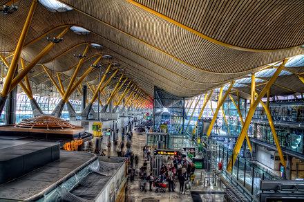 Terminal T4 Barajas, Madrid HDR