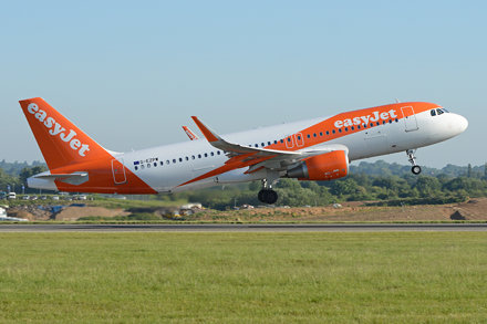 Airbus A320-214(w) 'G-EZPW' Easyjet