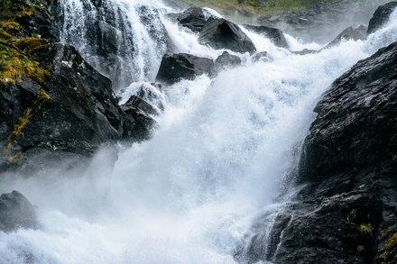 Låtefossen, Norway