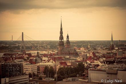 Riga (Latvia) old town