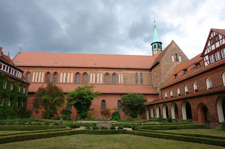 Kloster Lehnin Innenhof