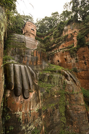 day 17 - leshan giant buddha