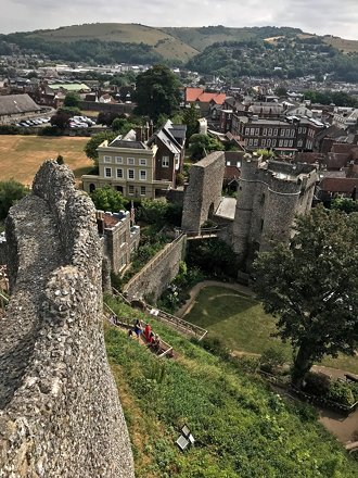 Lewes Castle and Gardens
