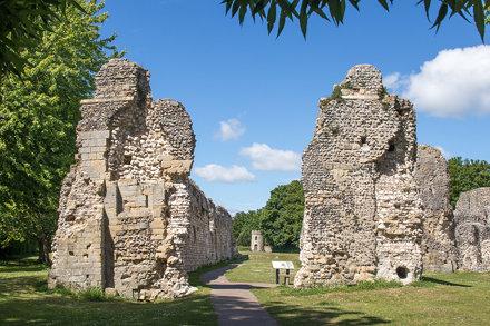 Lewes Priory ruins