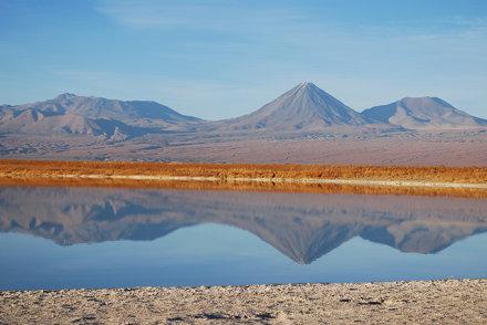Reflejo en Laguna Cejar